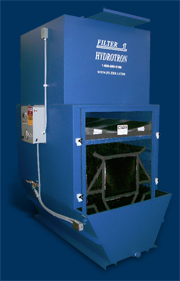 Hydrotron Ducted Wet Dust Collector